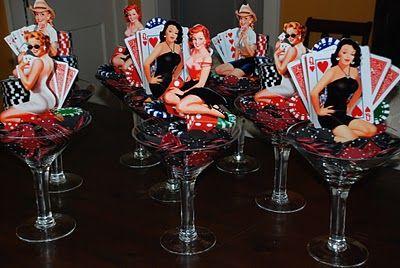 Casino 40th birthday party