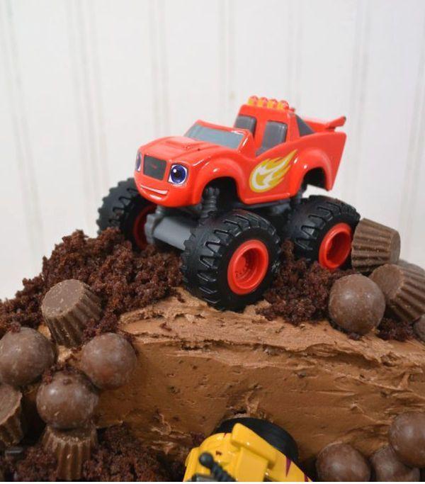 Diy Monster Truck Birthday Cake Monster Truck Birthday Cake
