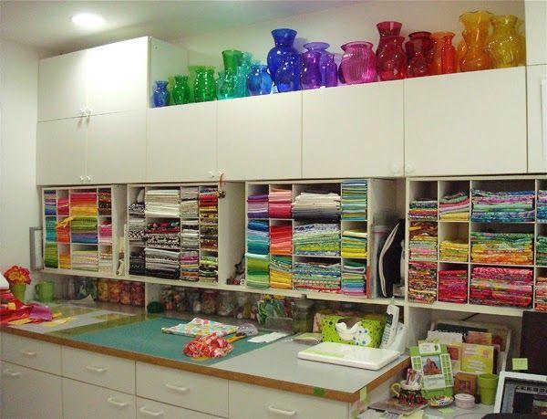 368 best Quilt Studio images on Pinterest | Organization ideas ... : studio quilt - Adamdwight.com