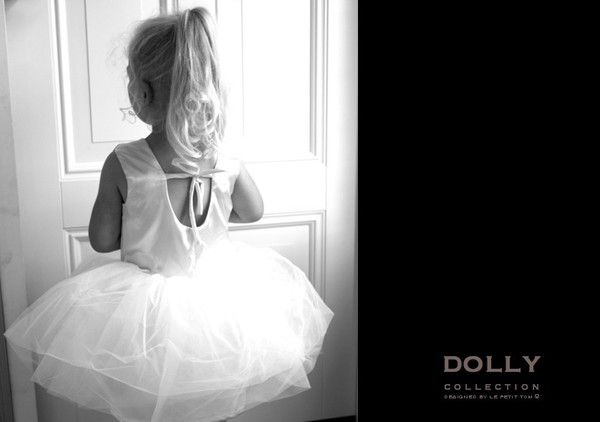 DOLLY by Le Petit Tom ® BALLET DRESS off-white