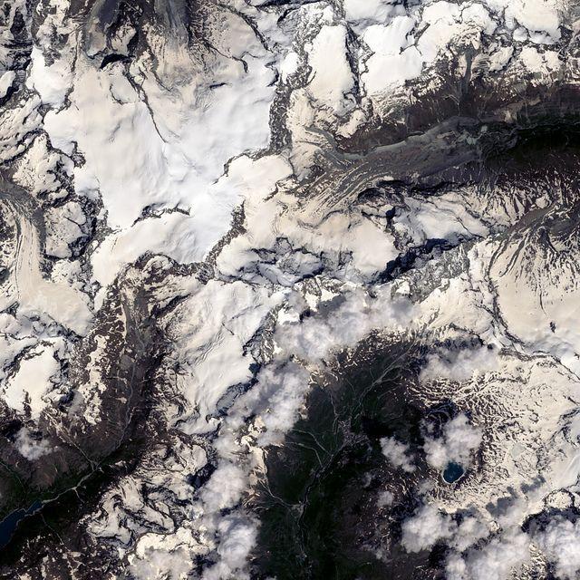 Matterhorn | Landsat8 processing by @Charlene Saunders Saunders Brown Loyd