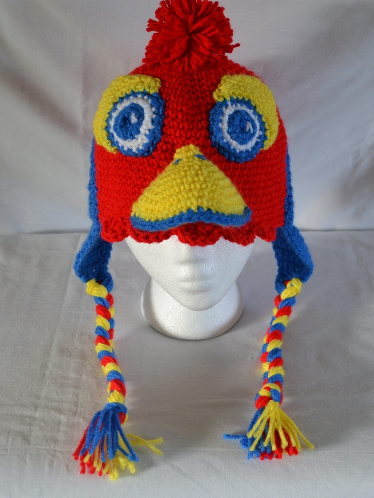 University of Kansas Jayhawks Hat  Wow...Must have!  Anyone out there that can make this? :)