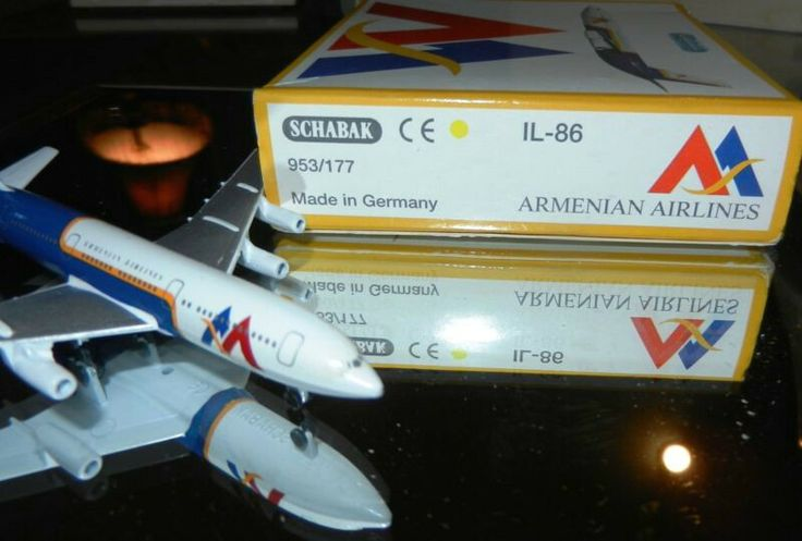 Armenian Airlines Schabak 1:600 IL-86