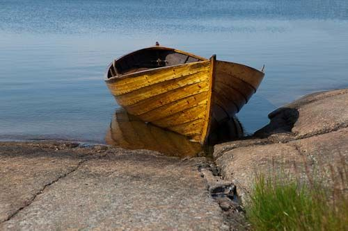 Soutuvene - hand crafted boat
