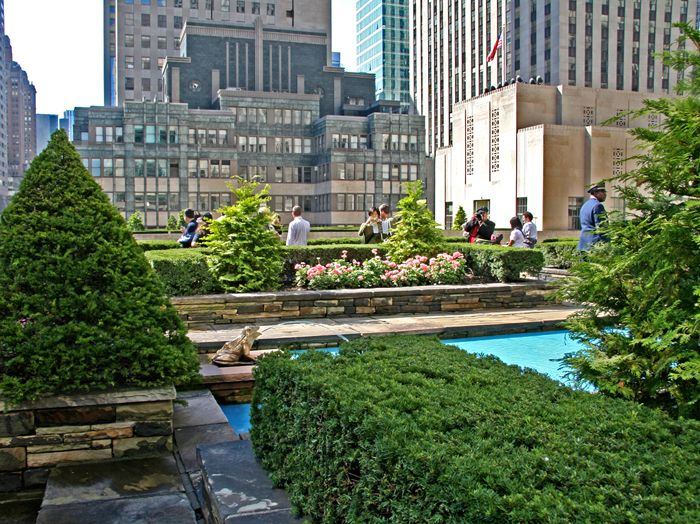 the Secret Rooftop Garden on top of the British Empire