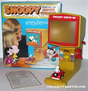 Snoopy Drive In Movie Theater....that's so awesome!