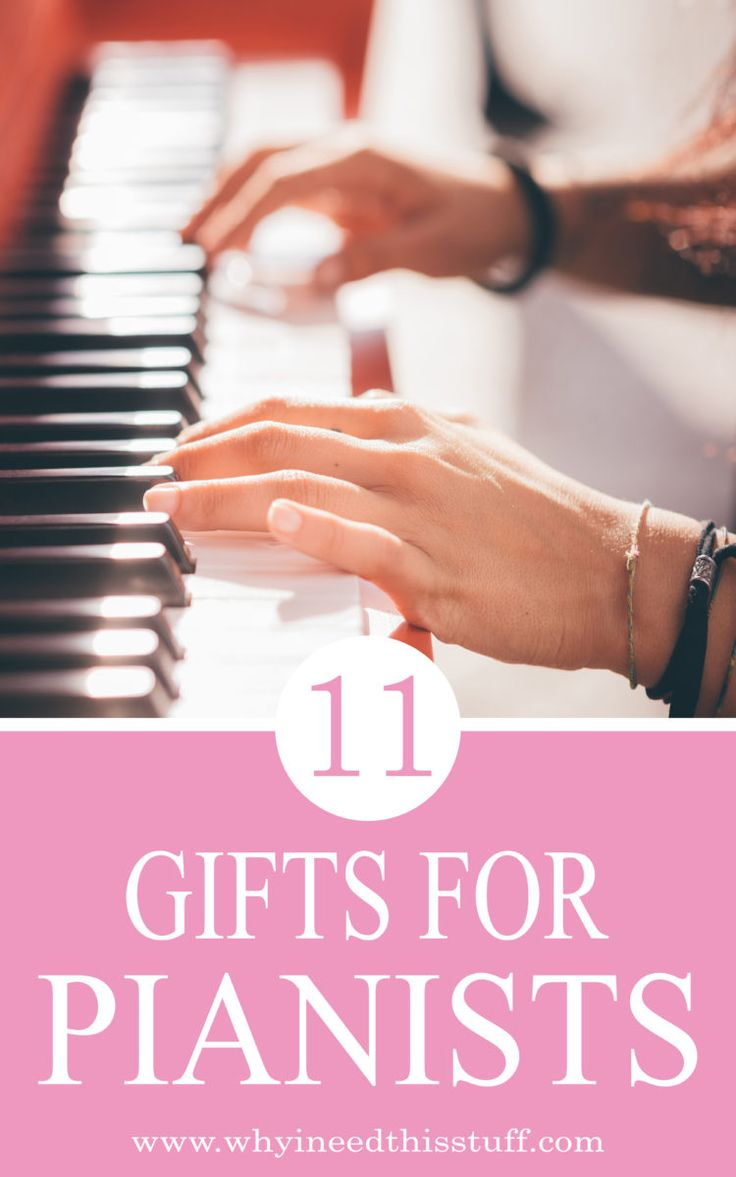 #Sponsored Gifts for Piano Players, Pianists and Classic Music Lovers!  Gift ideas for musicians and artists! Unique piano teacher gifts