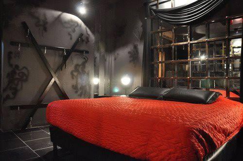 BDSM Bedroom   Art for loft   Pinterest   Bedrooms, Playrooms and Room