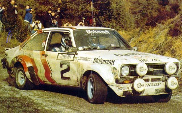 RIP Björn Waldegård - the first ever World Rally Champion. A true gentleman and a fantastic driver he will be sadly missed!