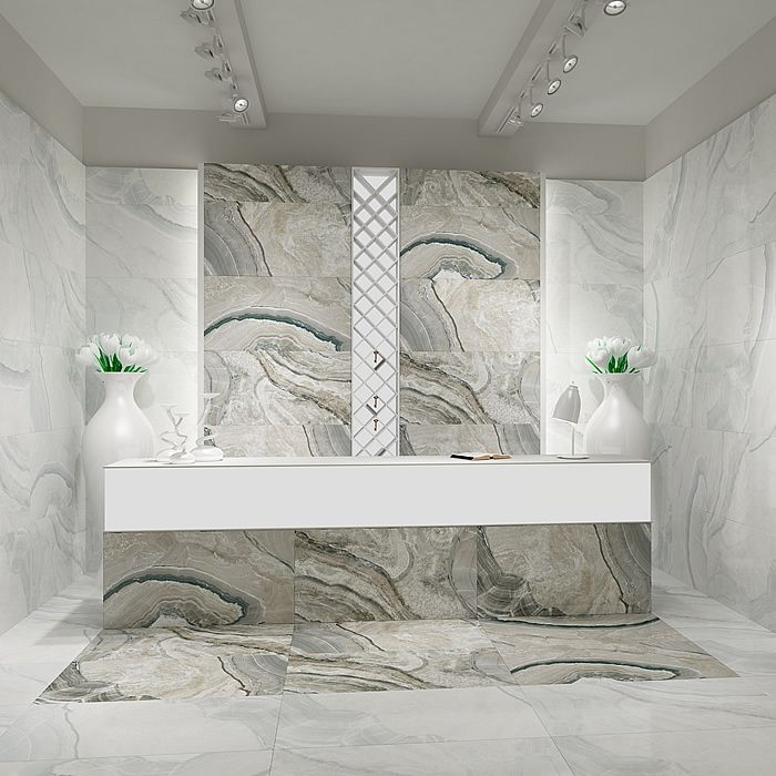 Beautiful U0027Invictusu0027 Tiles   Superb Large Format Marble Effect Porcelain Tiles.  Simply Beautiful In