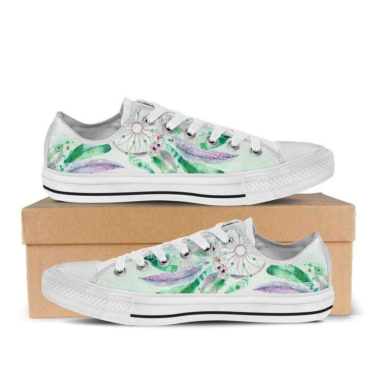 Dreamcatcher - Women's Sneakers (White)