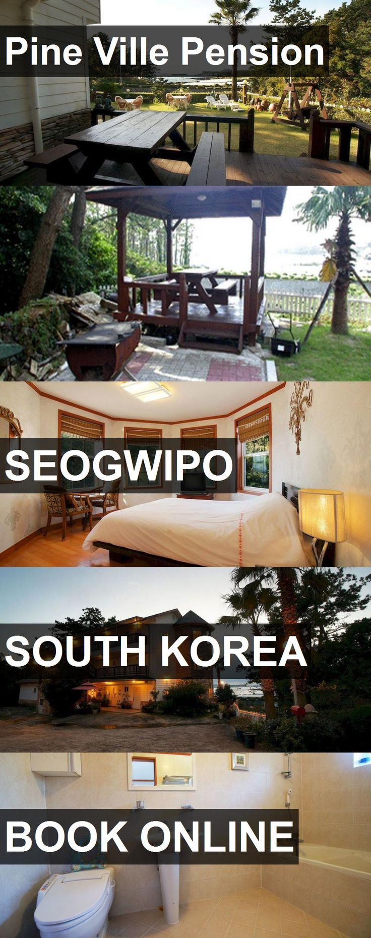 Hotel Pine Ville Pension in Seogwipo, South Korea. For more information, photos, reviews and best prices please follow the link. #SouthKorea #Seogwipo #travel #vacation #hotel