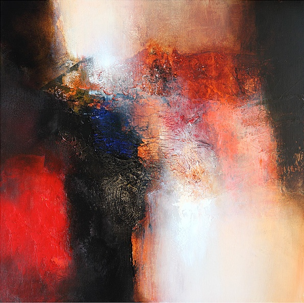 Eelco Maan I visual artist I lyrical abstract art I colorful abstract paintings