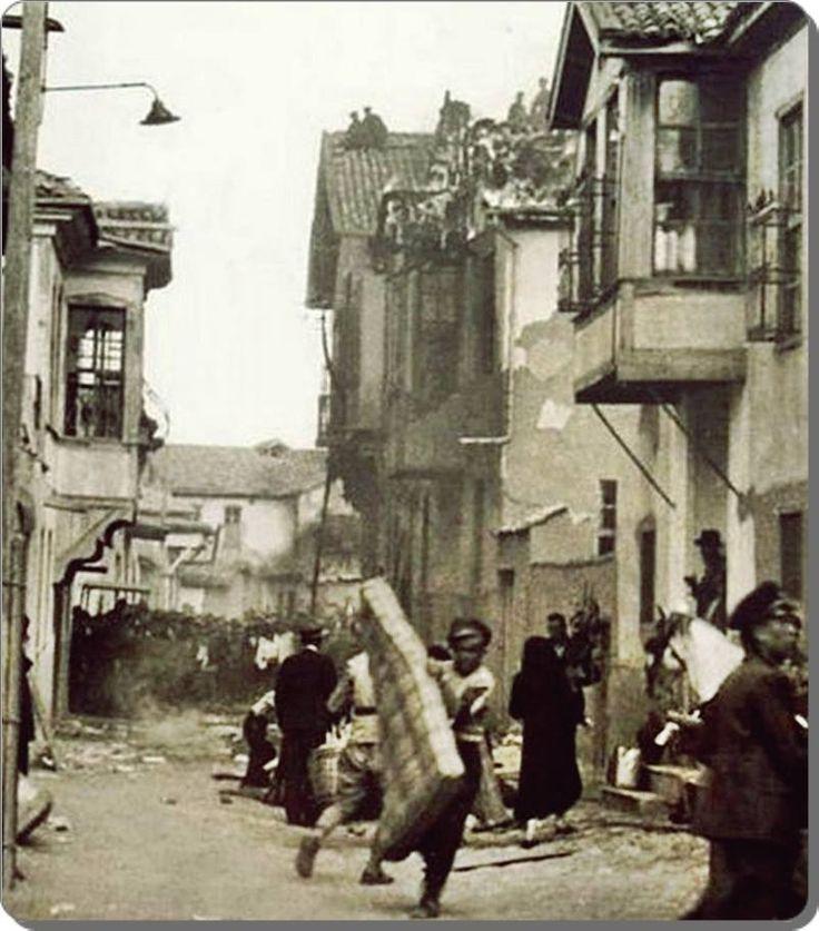 Cibali yangını ... 1918