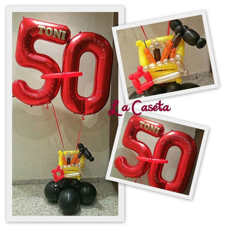 Fifty balloon