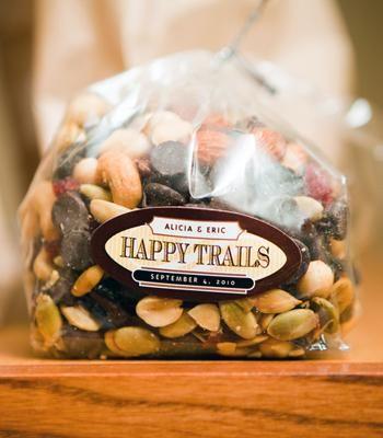 DIY Trail Mix Bar Labels + Tags
