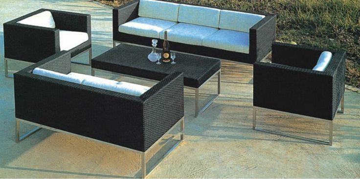 Outdoor Rattan Garden Furniture-in Garden Sets from Furniture on Aliexpress.com