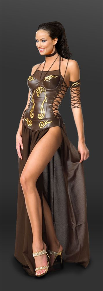 NW ♥ ♥ ♥ Olivia Wilde - Warrior Woman by ~SilentArmageddon on deviantART that's a really cool dress!!