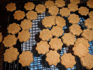 Baking dog treats for animal shelter- great service project for Daisy Animal Journey!