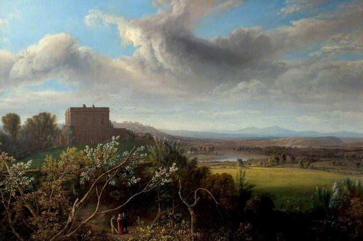 Nottingham Castle  by John Rawson Walker        Date painted: c.1832