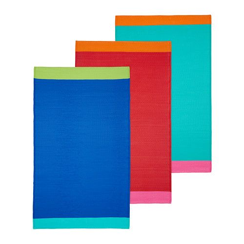 Ikea Rug Colorful: SPRINGKORN Tapis Tissé à Plat