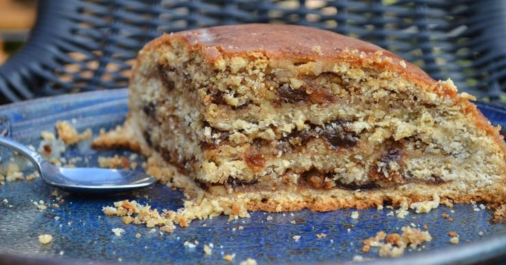 This dessert is translated as a torte, generally a torte is a multi layered cake, layered with icing or cream. This is a bit of a differe...