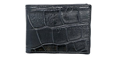 This American made finely sewn Genuine Alligator Bi-fold Wallet comes in your choice of Black, Brown or Cognac Tan. With this wallet, you will receive Genuine Alligator on the outside and the inside, which is luxurious and very rare. Almost all other Alligator Wallets are made with a less... more details available at https://perfect-gifts.bestselleroutlets.com/gifts-for-men/product-review-for-genuine-alligator-semi-gloss-slim-bi-fold-wallet-alligator-inside-and-out-very-rare-