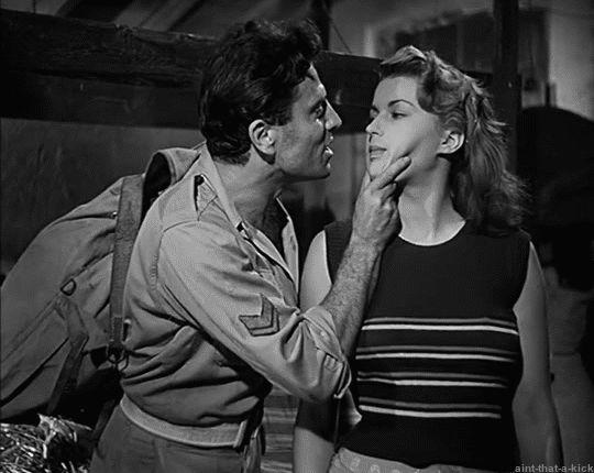 """Silvana Mangano - Vittorio Gassman """"Bitter Rice"""" 1949 (Italian)"""
