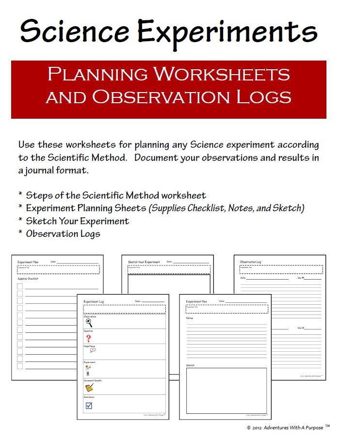 8 best Scientific Procedure images on Pinterest Classroom ideas - scientific method worksheet