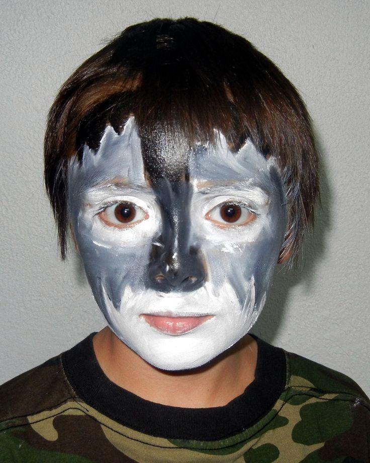 Natural Halloween Decorations: 55 Best Natural Halloween Face Paint / Costume Makeup
