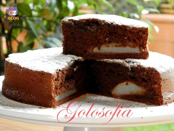 Torta cioccolato e pere, un dolce sofficissimo e goloso!