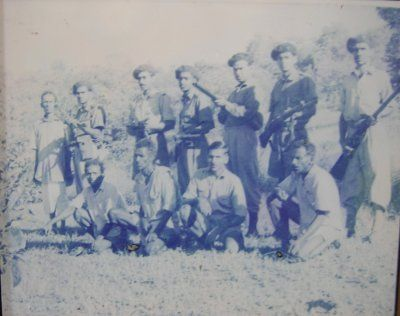 Commandos of the Azad Gomantak Dal. They operated in  Dadra, against Indo-Portuguese authority in the 1950's.