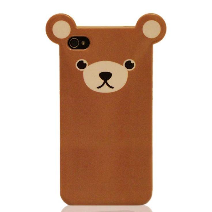 bear phone case.