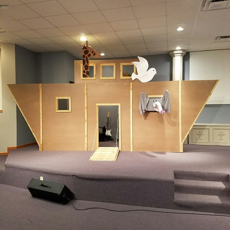 Noah 39 s ark for vbs sunday school pinterest sunday for Noah s ark decorations