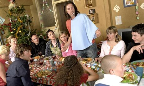 The Gallagher household reminds me so much of my own, in a good way. Lots of kids, lots of noise and chaos and happiness and struggling to pay the rent every month and pitching in together and just being together.