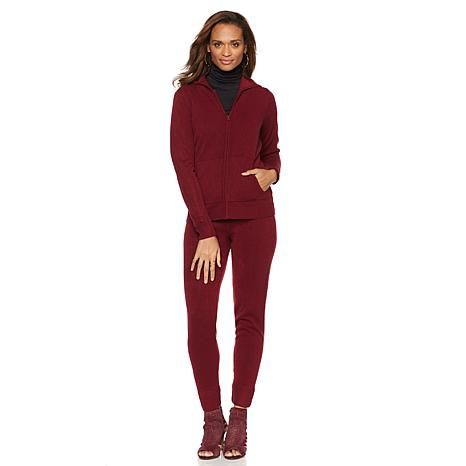 Wendy Williams Luxe Lounge Hoodie and Pant Set