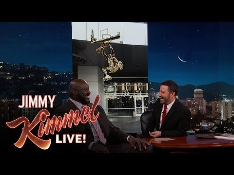 Jimmy Kimmel Live: Jimmy Kimmel Surprises Shaquille O'Neal with Staples Center Statue