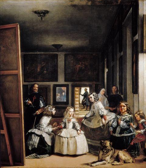 Diego Vélasquez (1599-1660) les Ménines