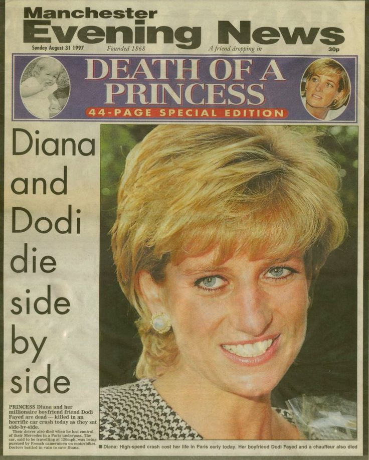 Death of Princess Diana, August 1997