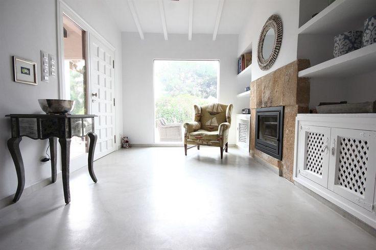 Reforma de una vivienda unifamiliar en Jávea: arquitectura y diseño interior... #ideas #piso #Microcemento #espacio #interior #revestimiento
