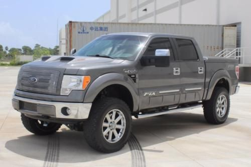 2012 FORD F150 Lariat CREW CAB 4WD FTX PACKAGE