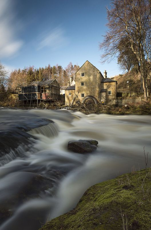 Thrum Mill, Rothbury, North Northumberland, England