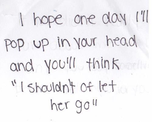 i sure hope you do this.