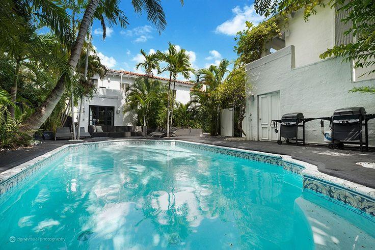 10 Room Art Deco Pool Villa Mansion Estate in Miami Beach, U.S.A.