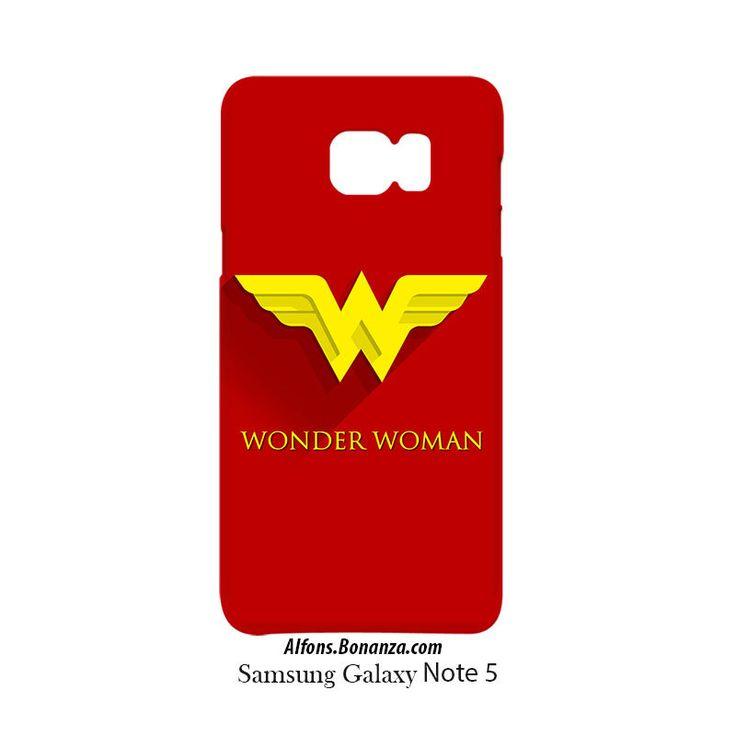 Wonder Woman Superhero Samsung Galaxy Note 5 Hardshell
