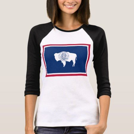 Wyoming State Flag T-Shirt - tap to personalize and get yours