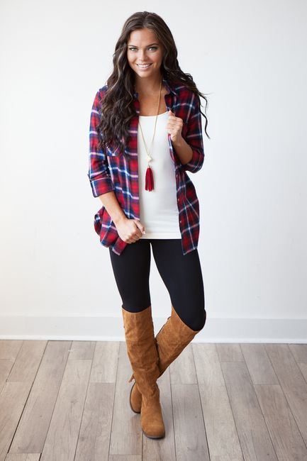Top 25 ideas about Red Flannel Outfit on Pinterest | Plaid outfits ...