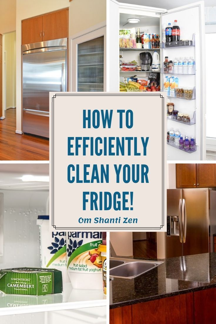 Here S The Easiest Way To Clean Your Fridge Clean Fridge Cleaning Refrigerator Organization