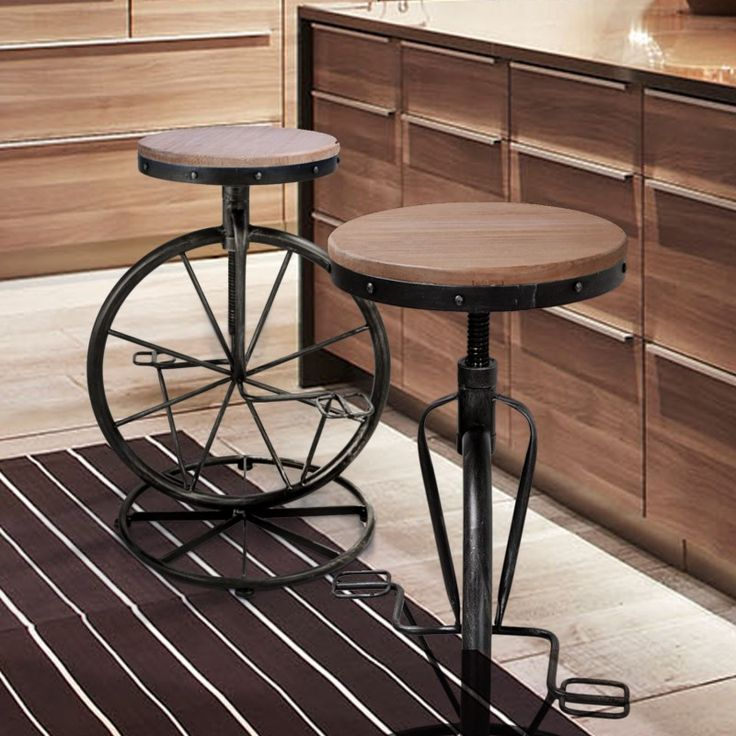 14 Best Images About Metal Bar Stools On Pinterest