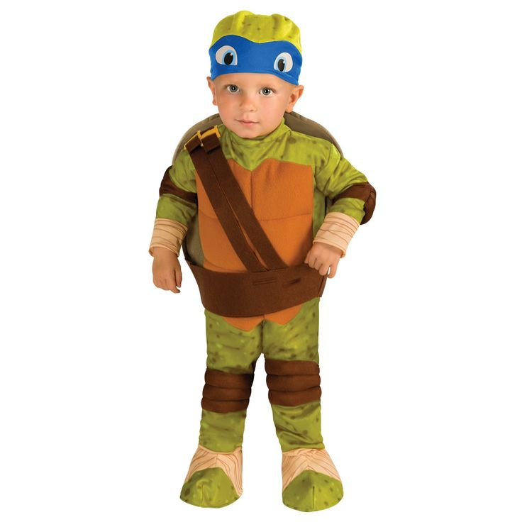 Booyakasha! Teenage Mutant Ninja Turtle - Leonardo Toddler Costume. Cowabunga dudes!